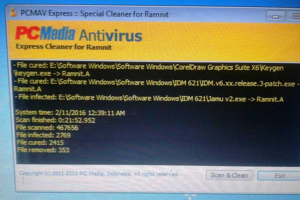 Antivirus-PCMAV