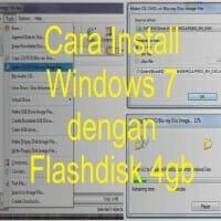 Software Rufus Untuk Cara Install Windows 7 Dengan Flashdisk 4 gb