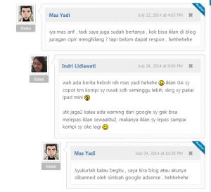 blog masyardi akun GA juragancipir di banned