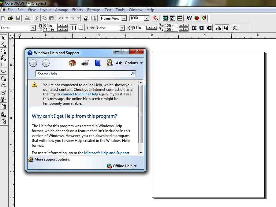 Install Corel 7 di Windows 7