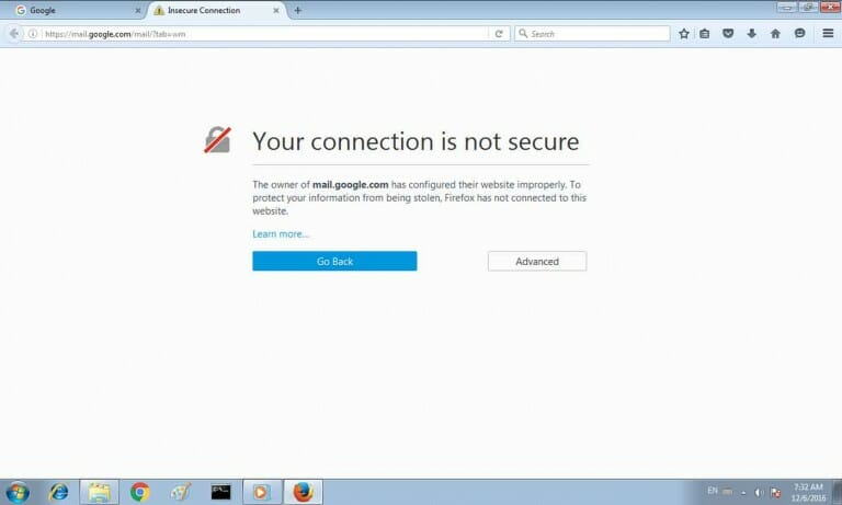 Cara Ampuh Mengatasi Your Connection Is Not Secure