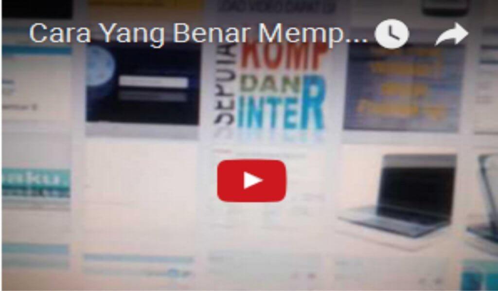 video cara memperbaiki loading website